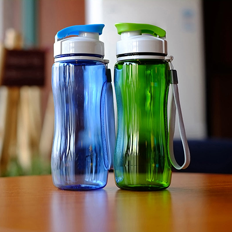 590ml Or 560ml Sports Water Bottle Portable And Leak Proof For Sports, Travel, Biking,  Hiking Plastic Water Bottle