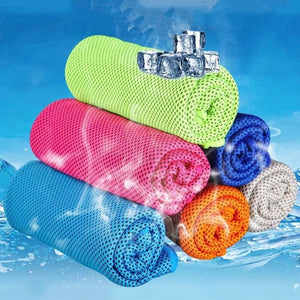 Instant Cooling Towel Sports Towel, Ice Cold Enduring Running #B Jogging Gym Chilly Pad - Relaxing Recoveries