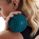 8.5cm Muscle Relaxation Pelvic Exercise Sports Fitness Foot Massage Ball, Hedgehog Body Pain Stress Massage Relief Trigger Point Ball - Relaxing Recoveries