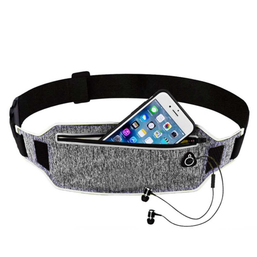 Professional Running Waist Pouch Sport Belt Mobile To Hold Phone, Men Women With Hidden Pouch, Gym Bags Running Belt Waist Pack - Relaxing Recoveries