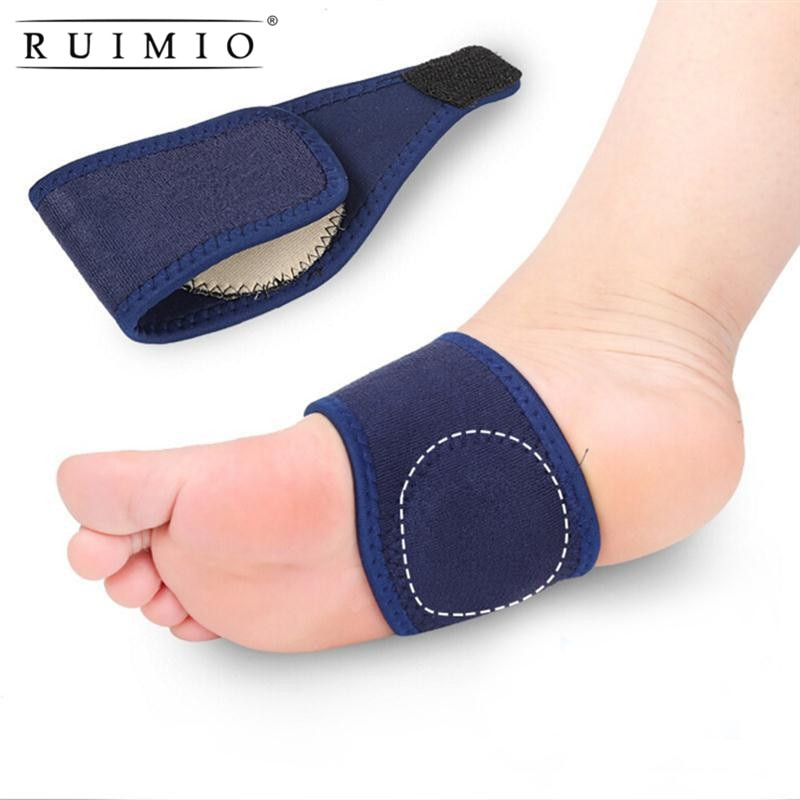 1 Pair Breathable Elastic Gel High Arch Orthotics Bandage for Heel Foot Support And Pain Relief Plantar Fasciitis, Orthopedic Insoles - Relaxing Recoveries