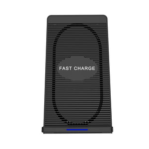 Coupcou.com: Cwxuan 10W Fast Wireless Charger Stand with Cooling Fan for Qi-devices