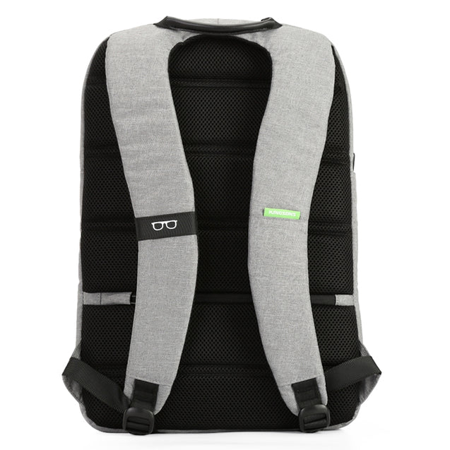 Coupcou.com: Kingsons  15.6 Inch Waterproof Nylon Bags Business Men and Women's Backpack