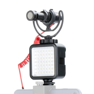 Coupcou.com: Mini Led Video Light with Cold Shoe Mount for DSLR Camera