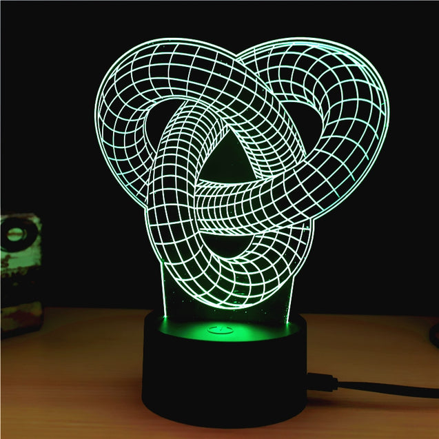 Coupcou.com: M.Sparkling TD185 Creative Abstract 3D LED Lamp