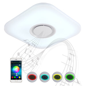 Coupcou.com: X9905F - 36W - LY Music Light Converter Bluetooth Ceiling Light