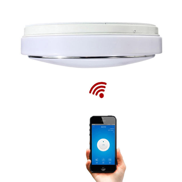 Coupcou.com: JIAWEN 24W Wifi LED Ceiling Light Cool Natural Warm White Smart Lamp AC100 - 240V