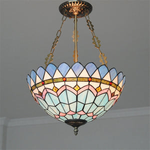 Coupcou.com: Modern Art Crafts Nordic Stained Glass Lamp Shade Lustre Vanity Pendant Light Fixtures Chandelier Restaurant Coffee Luminaire DFNDD-13