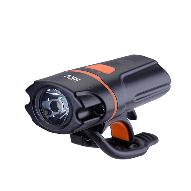 Coupcou.com: HKV Bicycle Headlight USB Charging Waterproof Flashlight 3 Mode
