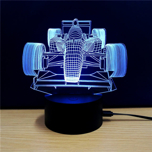Coupcou.com: M.Sparkling TD101 Creative Car 3D LED Lamp