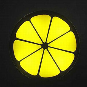 Coupcou.com: LED Lemon Night Light Auto Sensor Control Lamp for Bedroom