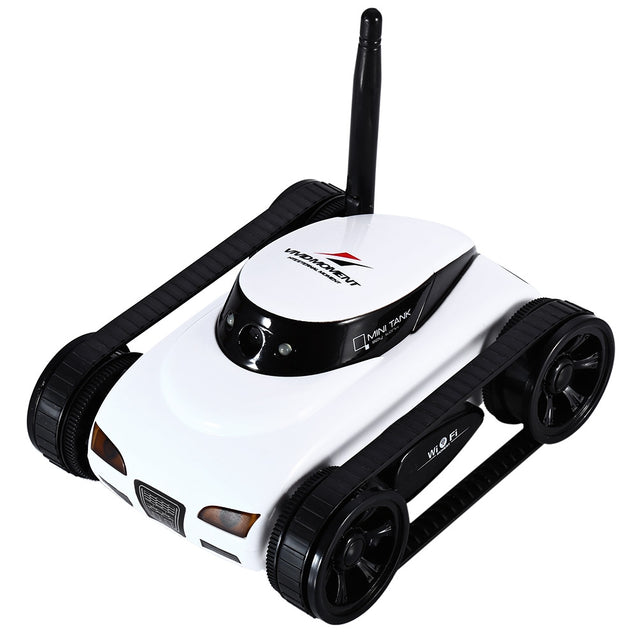 Coupcou.com: Happycow RC Tank 777 - 270 WiFi Tank Car Toy with Camera Remote Control Video iOS Phone or Android Gift