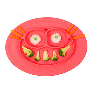 Coupcou.com: WS 0238 Hot Pin Silicon Rubber Tableware for Baby