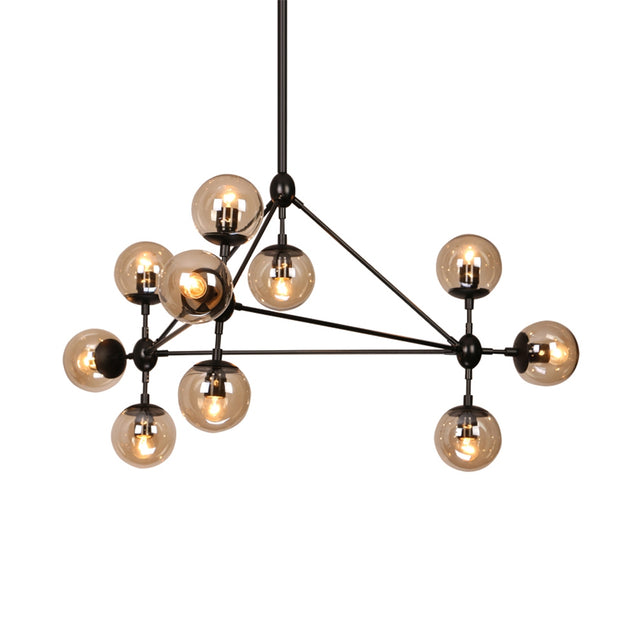 Coupcou.com: Modern Chandelier Light 10 Lights Modo Ceiling Light for Living Bed Room