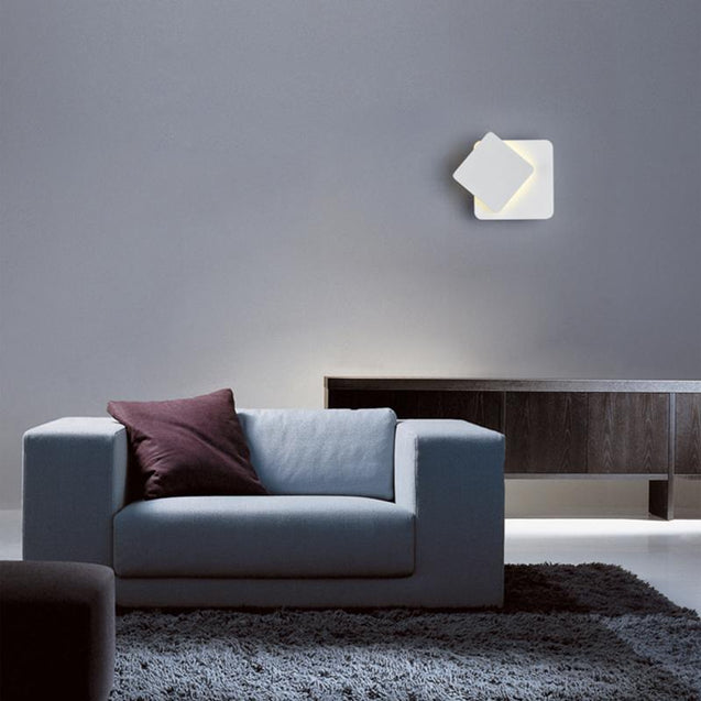 Coupcou.com: Modern Style 360 Degree Can Adjust The Wall Lamp White Metal  for Living Dining Room Bedrooms