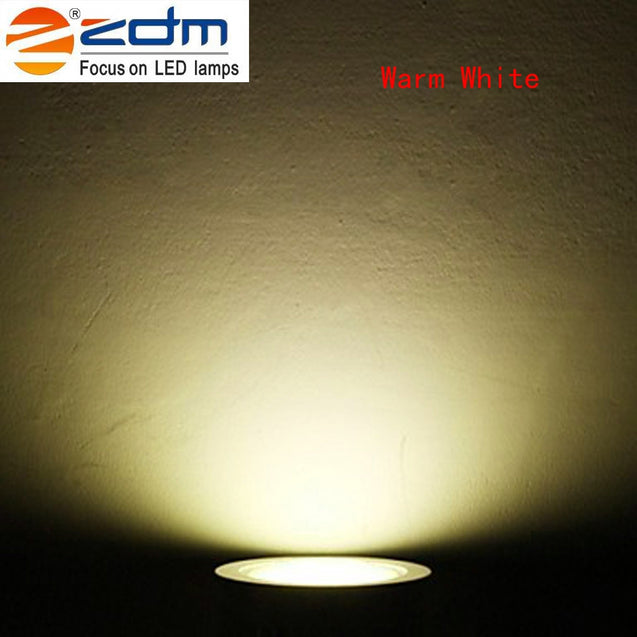 Coupcou.com: ZDM 3X2W 400 - 450LM Silveryled Ceiling Lamps Warm / Cool / Natural White AC85-265V