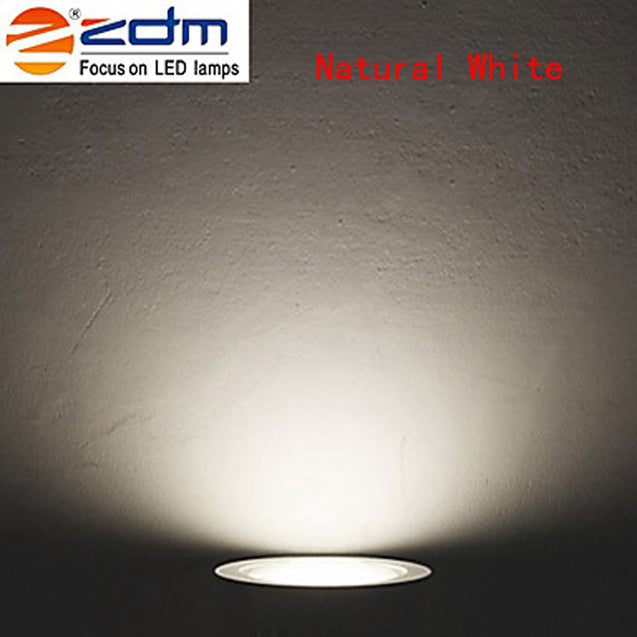 Coupcou.com: ZDM 4PCS 7W 700 - 750LM Dimmable LED Ceiling Lamps Warm / Cool / Natural AC 110/220V