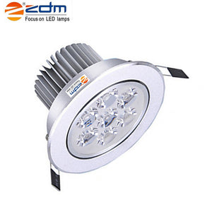 Coupcou.com: ZDM 4PCS 7W 700 - 750LM Low Voltage Led Ceiling Lamps Warm / Cool / Natural White AC12V/ 24V