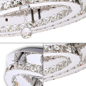 Coupcou.com: X816 - 72W - WJ Promise Dimming Crystal Ceiling Light AC 220V