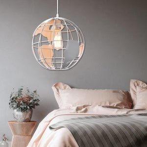 Coupcou.com: Modern Country Style Pendant lamp Globe Shape for Office Room  Living Dining Room Bedrooms