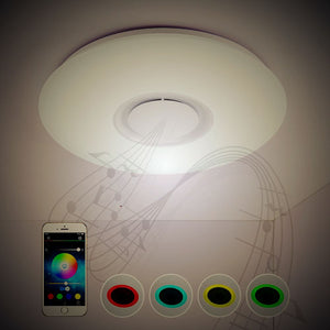 Coupcou.com: X9903Y - 24W - LY Music Light Converter Bluetooth Ceiling Light