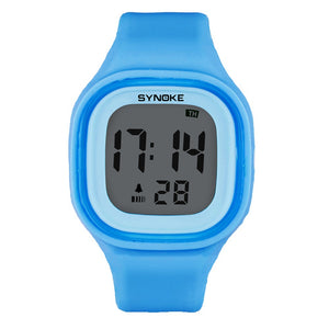 Coupcou.com: SYNOKE 66896 Waterproof Silicone Band Couple Electronic Watch