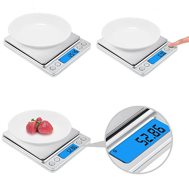 Coupcou.com: Digital Kitchen Mini Pocket Cooking Food Scale