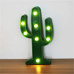 Coupcou.com: 3D LED  Cactus Table Lamp For Decorations Party Small Night Light