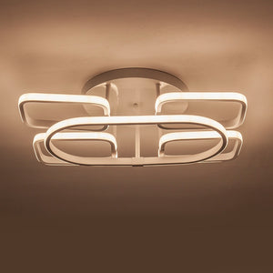 Coupcou.com: X8890 - 77W - WW LED Warm White Post-Modern Minimalist Ceiling Lamp AC 220V