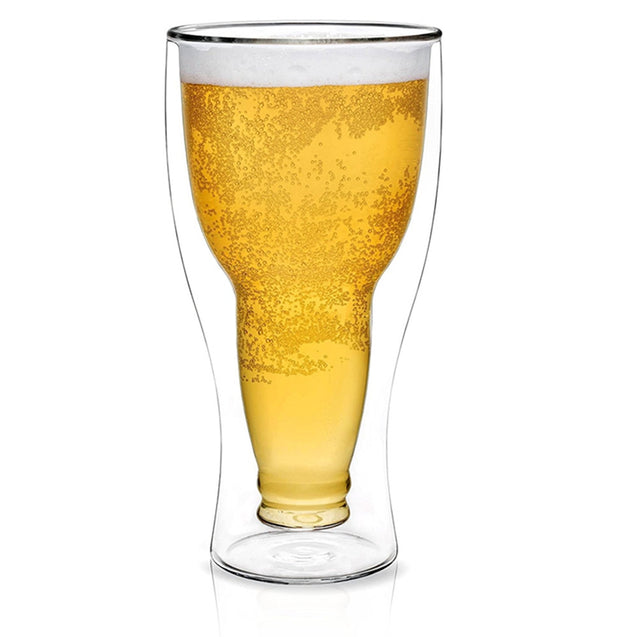 Coupcou.com: Double Wall Dragon Glassware Beer Glass