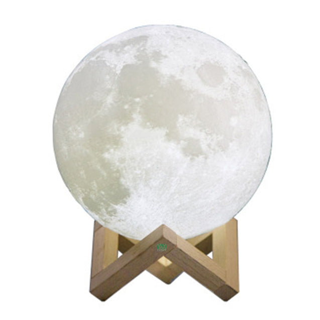 Coupcou.com: YWXLight Moon Lamp Rechargeable Night Light 16 Color Change Touch Switch