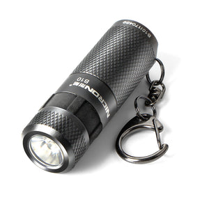 Coupcou.com: NICRON B10  CREE LED 200LM Mini USB Rechargeable Keychain Flashlight