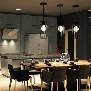 Coupcou.com: Nordic Iron Industry Vintage Home Decor Pendant Light Fixtures Restaurant DD-35