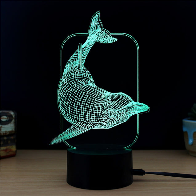 Coupcou.com: M.Sparkling TD173 Creative Animal 3D LED Lamp