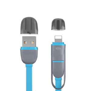 Coupcou.com: XY Noodles One for More than 2 Functions of General Data Cable Charging Cable for Apple Android