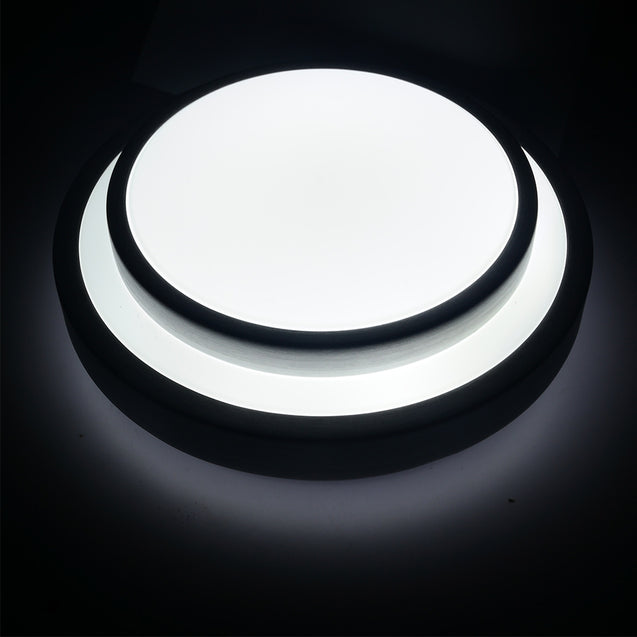 Coupcou.com: YouOKLight 1PC NEW 15W Cold White 85 - 265V 29cm LED Ceiling Light w / Acrylic Lampshade