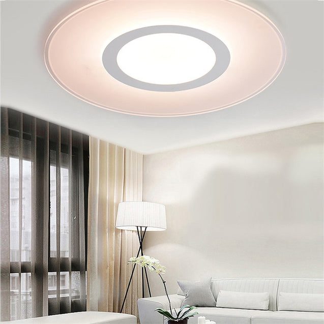 Coupcou.com: Modern Indoor Decor LED Ceiling Lamp Acrylic For Bedroom Corridor