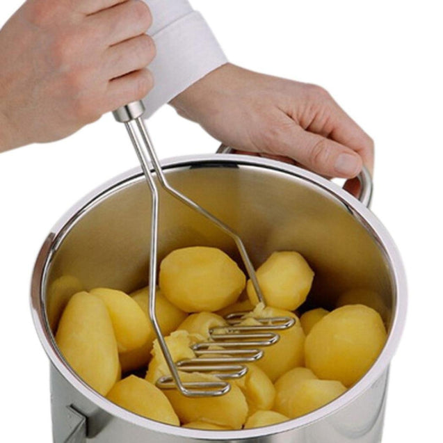 Coupcou.com: Kitchen Gadgets Stainless Steel Potato Pressure Mud Machine Fruit Vegetable Tools Accessories