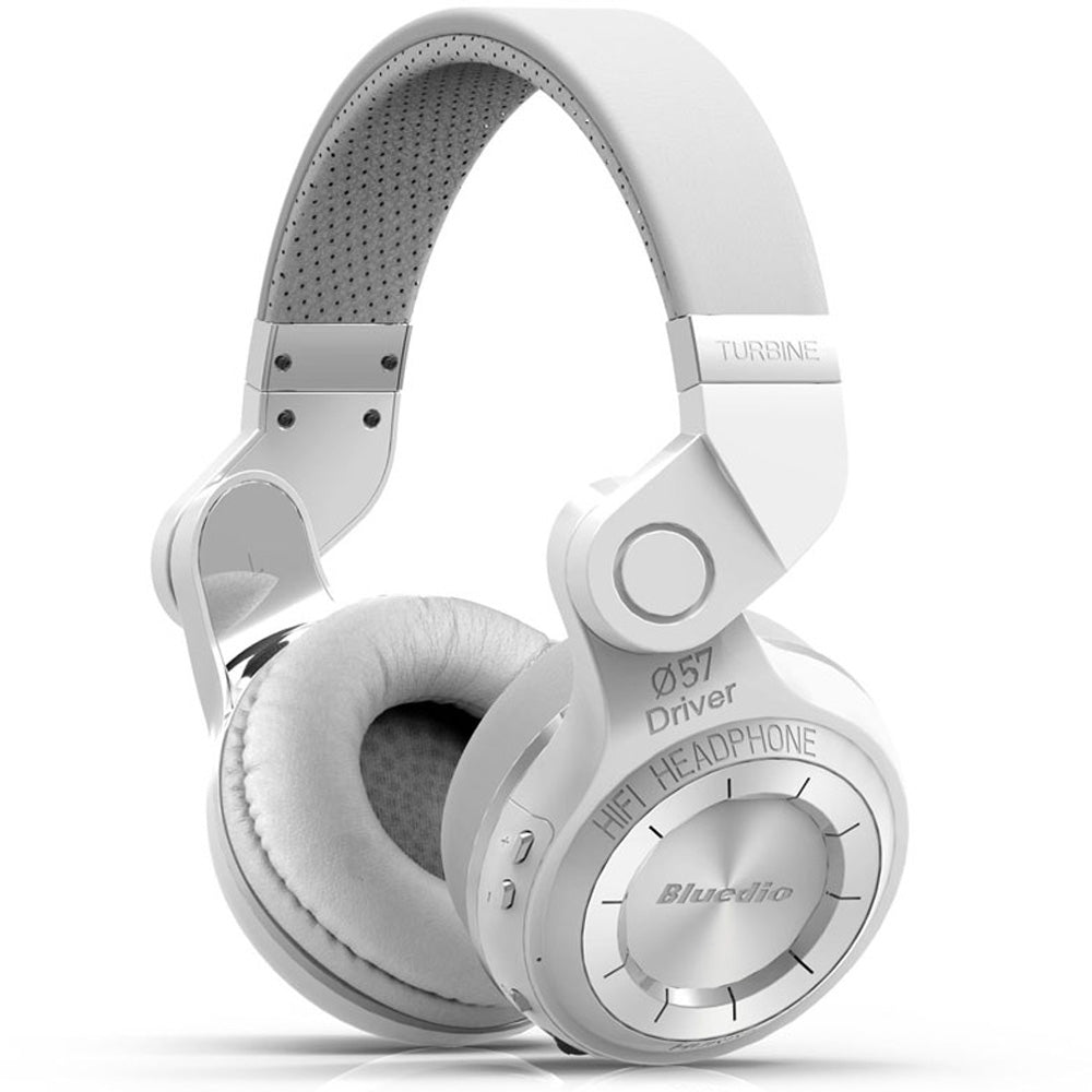 Bluedio T2 Foldable Style Bluetooth V4.1 +EDR Wireless Headset for Smartphone Tablet PCWHITE