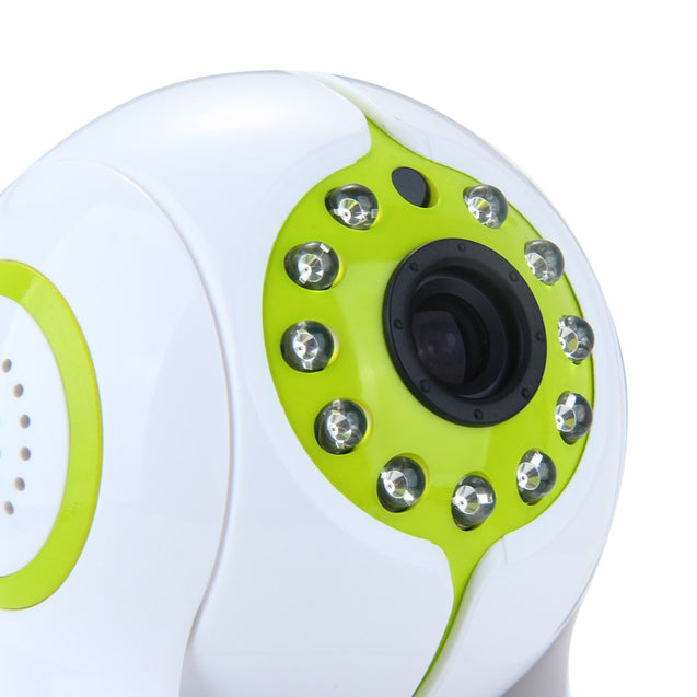 Coupcou.com: Sricam SP006 1MP H.264 Wireless IP Camera Support TF Card with Pan-Tilt Alarm Function - 100 - 240V