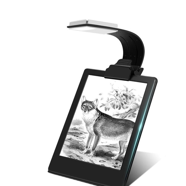 Coupcou.com: Utorch Kindle LED Clip Reading Light USB Folding Rechargeable Portable Lamp