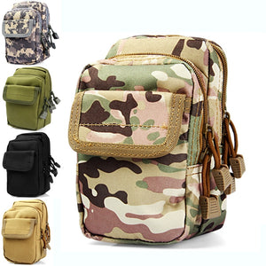 Coupcou.com: X2 Outdoor Mobile Phone Pocket Waist Bag Sundries Pack Hiking Cycling Supplies