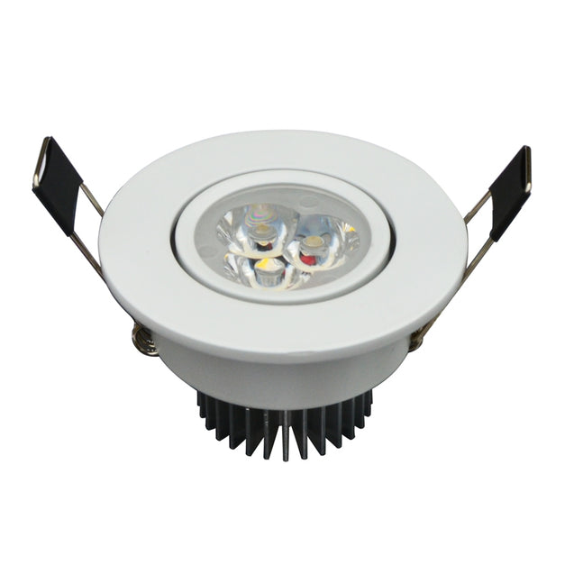 Coupcou.com: Jiawen 6pcs / Lot 3W LED Downlight Warm White and Cool White Recessed LED Spot Light AC 85 - 265V