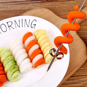 Coupcou.com: Household Stainless Steel Fruit Vegetable Rotary Knife 1pcs