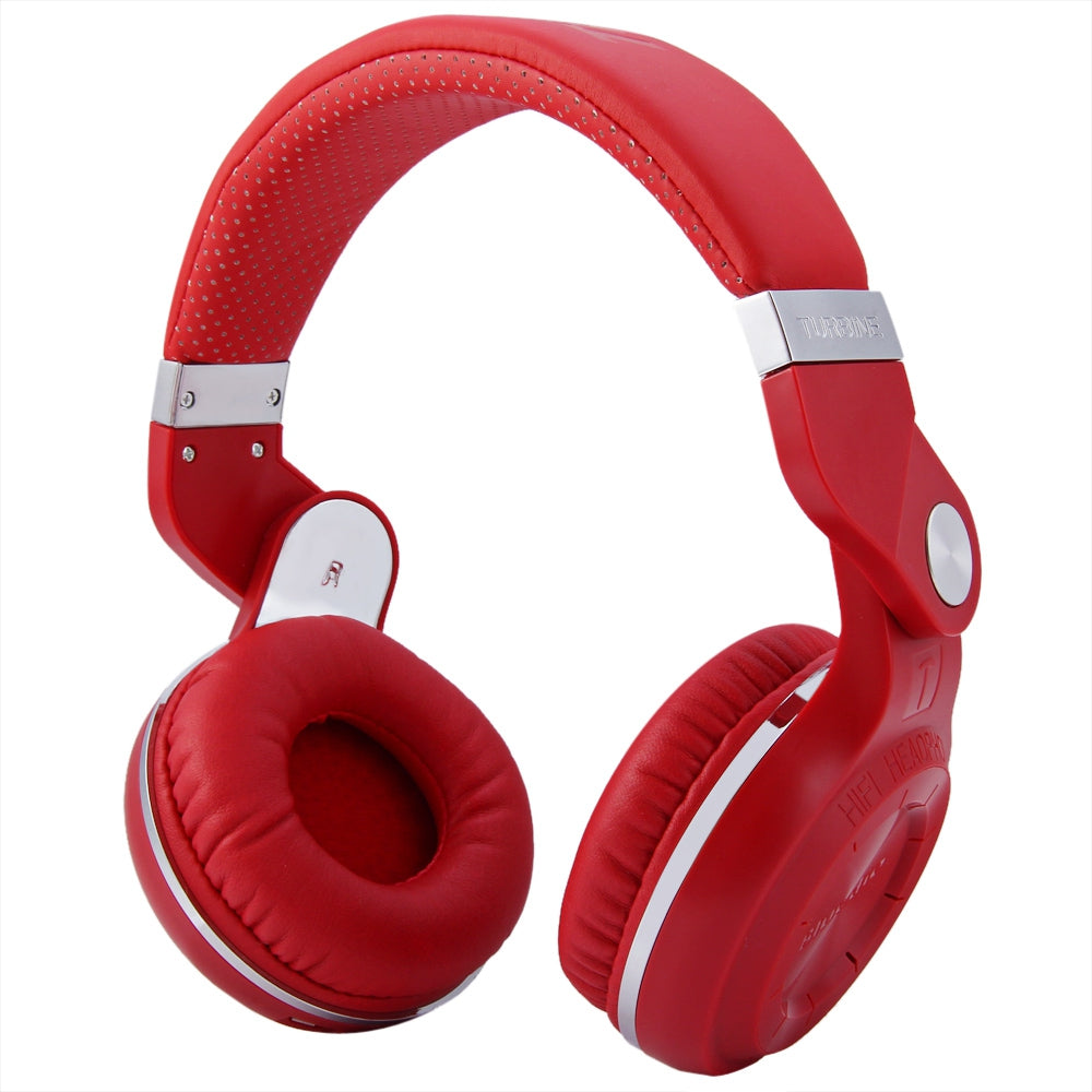 Bluedio T2+ Wireless Bluetooth 5.0 Stereo Headphone Headset Earphone Foldable / Stretchable Supp...RED