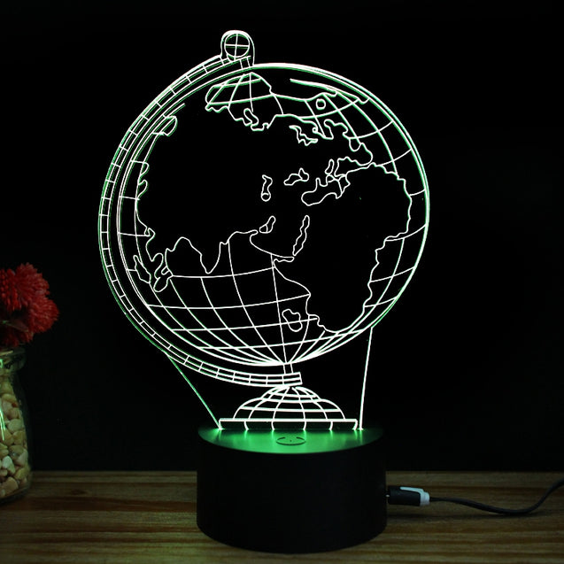 Coupcou.com: M.Sparkling TD016 Creative Earth 3D LED Lamp