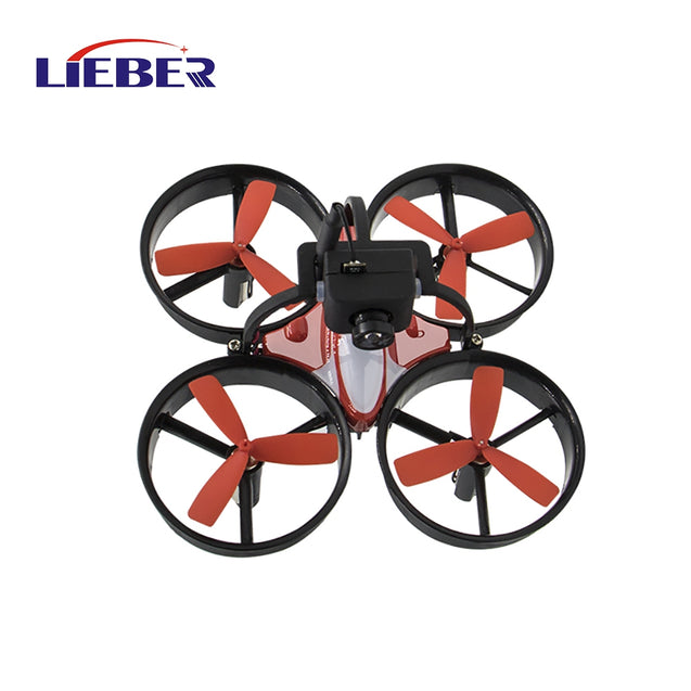 Coupcou.com: Lieber Birdy 1060 Mini FPV RC Drone Equipped with 600TVL HD Camera Transmitter 4.3 inch 5.8G 40CH LCD Monitor Receiver