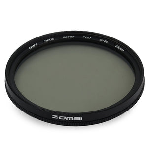 Coupcou.com: Zomei 55mm Ultra Slim Circular Polarizer Glass CPL Filter Lens