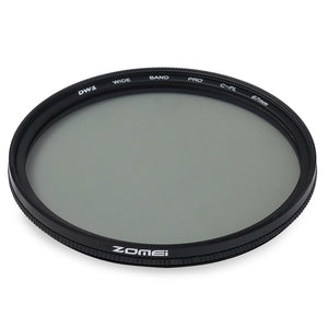 Coupcou.com: Zomei 67mm Ultra Slim Circular Polarizer Glass CPL Filter Lens