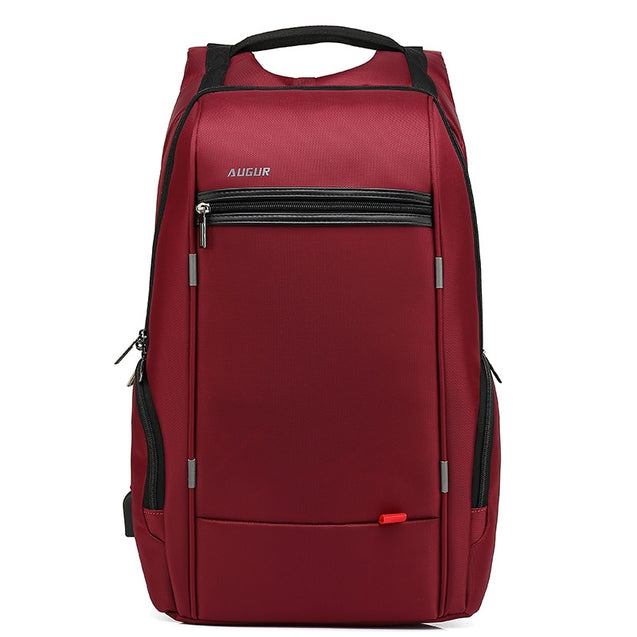 Coupcou.com: AUGUR Brand Men Women Backpacks USB Charging Laptop Male Teenagers School Large Capacity Casual Travel Bags